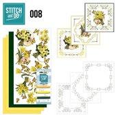 Stitch and Do 8 - Gele bloemen