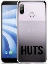HTC U12 Life Hoesje Huts zwart