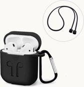 Hoesje geschikt voor apple AirPods van Versteeg® - airpods case apple - silicone hoesje - EarPod set