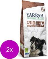 Yarrah Senior Kip/Vis Biologische Hondenvoer - 2 St à 2 kg