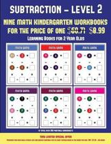 Learning Books for 2 Year Olds (Kindergarten Subtraction/Taking Away Level 2)