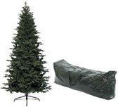 Kunst kerstboom Frasier Pine met opbergzak - 1053 tips - 210 cm groen - Kunstkerstbomen en opbergzakken