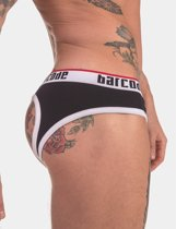 BARCODE BERLIN BACKLESS MAXIME BRIEF BLACK / WHITE