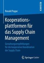 Kooperationsplattformen F r Das Supply Chain Management