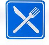 ATV Safety Restaurant 210 x 210mm Vinyl 433