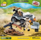 Cobi 100 Pcs Small Army /2197/ Mobile Firing Position