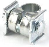 Lepper zadelstrop 90V/214/215 - zilver