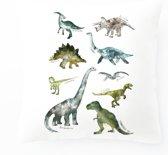 Kussenhoes Dinosaurs| Kussenhoes Kinderkamer 45 x 45 cm.