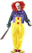 Enge clown kostuum voor volwassenen Halloween  - Verkleedkleding - XL