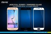 Full Screen Protector Tempered Glass voor Samsung Galaxy S6 - Zwart