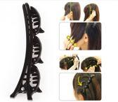 Haarclip Schuifbumper|Haarklem|Kapper|Stylingtool|Haarclip|Zwart