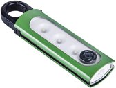 karabijnhaak met led-verlichting 15 cm groen