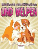 Dschungeltiere Malbuch (German Edition)