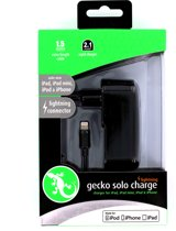 Gecko Travel Charger Apple Lightning 2.1A Black