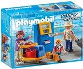 Playmobil Vakantiegangers aan incheckbalie - 5399