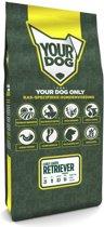 Yourdog curly coated retriever hondenvoer senior 12 kg