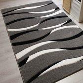 Vloerkleed - 2500 gr per m² - Infinity - Grijs - 6084 - 80x150 cm - 13 mm