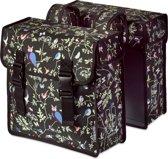 Basil Wanderlust Double Bag Dubbele Fietstas - 35 l - Charcoal Zwart