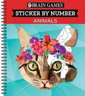 Brain Games Color by Stickers Animals