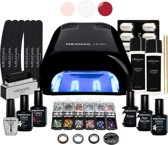 Gel Nagellak - MEANAIL Deluxe Kit Limited Edition - UV lamp - 30 delig