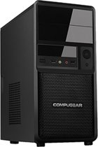 COMPUGEAR Game PC met AMD FX-6300 6-Core + 8GB RAM + 1TB HDD + GTX 1050 Ti 4GB + Windows 10
