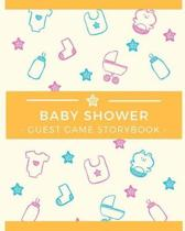 Baby Shower Guest Game Storybook