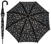 Paraplu Zwart G-Sleutel