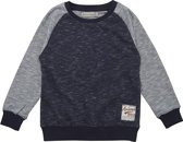 Minymo- jongens sweatshirt - Evan - blauw - Maat 104