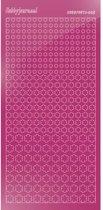 Hobbydots sticker - Mirror Roze