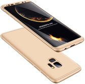Teleplus Samsung Galaxy S9 360 Full Protected Cover Gold