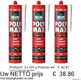 Profipack Bison Poly Max Original wit 3 x 425 g