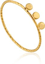 Ania Haie Ring AH R007-03G - Zilver Goldplated
