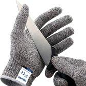 Anti snijhandschoenen - Keuken handschoenen - Snijbestendige handschoenen – Klussen - Tuin - Snijwerende handschoenen - Veiligheidshandschoenen - Snijbestendig - Cut restitant - Snijbeschermingshandschoenen - Snijden