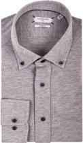 Giordano Heren Overhemd Grijs Flannel Button-down Modern Fit - M