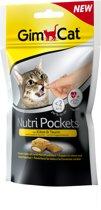GimCat Nutri Pockets - Kaas & Taurine - 60 g