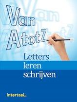 Van A tot Z: Letters leren schrijven werkboek