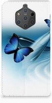 Nokia 9 PureView Uniek Standcase Hoesje Vlinders