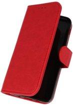 Samsung Galaxy J3 2018 Rood | bookstyle / book case/ wallet case Wallet Case Hoesje  | WN™