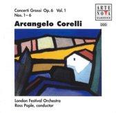 Corelli: Concerti Grossi Op 6 Vol 1 / Pople, London Festival