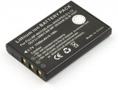 Battery for FUJIFILM NP-60, Li-ion, 3,7V, 1100mAh, 4,1Wh