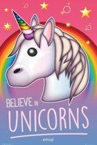 Emoji Believe In Unicorns - Maxi Poster