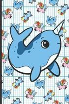 Narwhal Blueprint Notebook