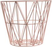 Ferm Living Wire Basket opbergmand rose small