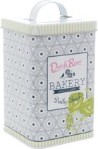 Dutch Rose Koekblik Daily Fresh - 13 x 13 x 23 cm