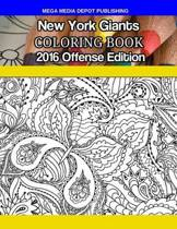 New York Giants 2016 Offense Coloring Book