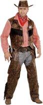 Cowboy & Cowgirl Kostuum   Stoere Cowboy Man /   Jongen   Medium   Carnaval kostuum   Verkleedkleding