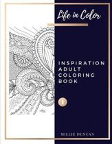 INSPIRATION ADULT COLORING BOOK (Book 1)