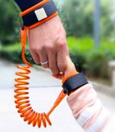 Veiligheidsband voor kinderen   Anti Lost polsband oranje   Voor in pretparken veiligheid