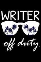 Writer Off Duty