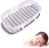 Beeb® Co Sleeper - Wieg - Babynest met matras - Bednest - Veilig & Betrouwbaar - 80 x 40 cm - Wit Deluxe